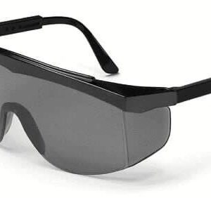 Safety Glasses Black Lenses