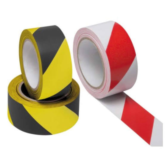 Barrier Tape Black/Yellow & Red/White