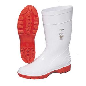 Wayne White & Orange Gum Boot NSTC
