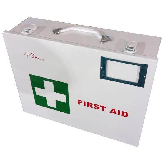 Metal Medical Aid Box (Only Box)