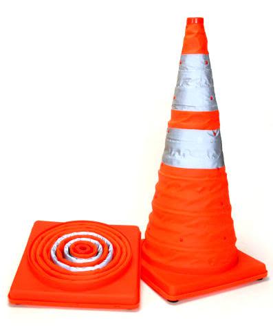 Collapsible Orange Cone 40cm