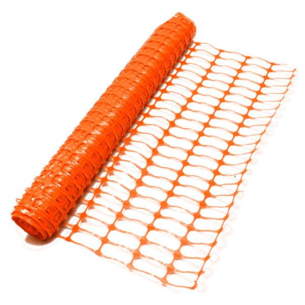 Barrier Net Orange 1m Height